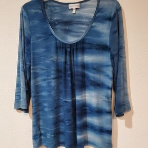 Fashion Bug blouse size XL tie dye